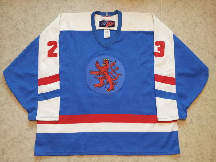 Luxembourg ice hockey national team jersey