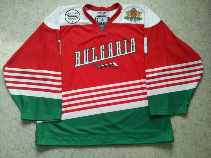 Bulgaria national team game worn jersey Konstantin Mihaylov