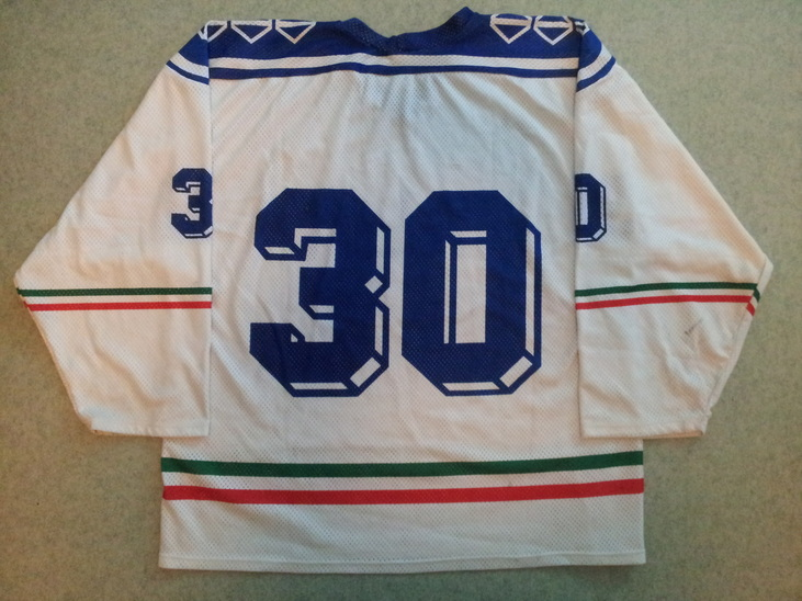 Game worn Italy