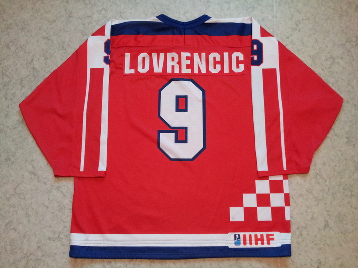Croatia ice hockey jersey