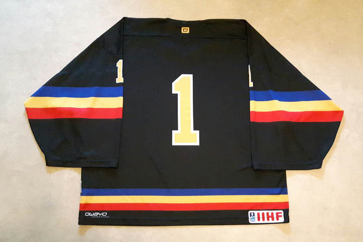 Andorra game worn jersey